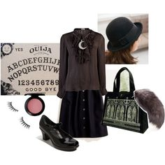 """""""I Don't Believe in Ghosts..."""", created by beholderinsorrow.polyvore.com"""