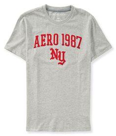 Camiseta Aeropostale Masculina 1987 LOGO - Cinza - Figo Verde: Roupas importadas originais http://www.figoverde.com.br