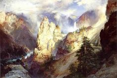 LANDSCAPE, BY THOMAS MORAN