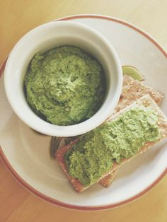 boyfriend approved: vegan jalapeño lime cilantro pesto. fourthandolive.com
