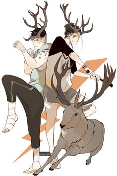 Cassandra Jean - I put a poll on twitter to see who everyone wanted to see next. The twins won by a landslide. Popular jock twins Blitzen and Dasher  Blitzen eats tons of junk food even though he likes to be fit. Dasher is extremely easy to goad into competition.