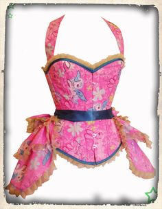 My Little Pony corset and bustle