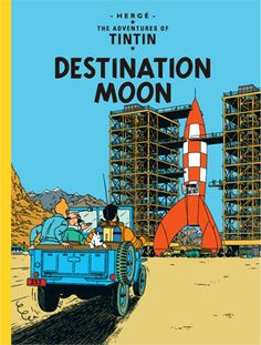 Tintin, Snowy, and Haddock travel to join Professor Calculus, who has been commissioned by the Syldavian government to secretly build a rocket ship that will fly to the Moon.