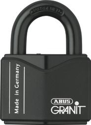 Abus Padlock 37/55 By far one of my favorite padlocks! The granit series; also known as the insurance lock, is many time the bare minimum to secure many vehicles with in order to get them insured.