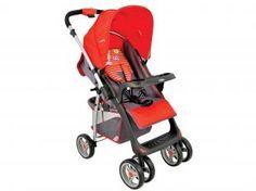 Carrinho de Bebê Passeio Lenox Kiddo Travel System - Zap Reclinável com Bandeja para Crianças até 15Kg