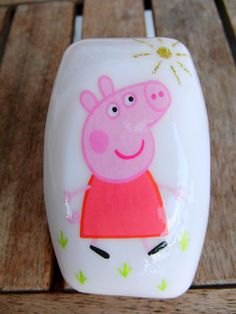 Peppa Pig soap.