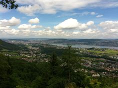 Zuerich and lake from Felsenegg Celestial, Mountains, Sunset, Places, Nature, Travel, Outdoor, Round Round, Outdoors