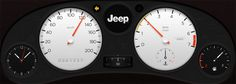 Jeep concept full lcd cluster design by Nebson
