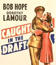 Promotional poster for Bob Hope's 1941 comedy Time Out Of Mind, Play Poster, Dorothy Lamour, Bob Hope, Story Setting, Nose Art, World War Two, Short Stories, Good Movies