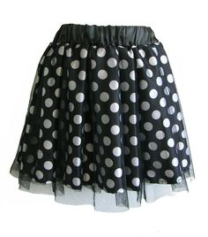 http://ricketyrack.com/Spotted-Mesh-Skirt-10187.htm