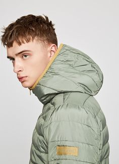 PUFFED JACKET 'AVIARY' Pepe Jeans, Winter Jackets, Coat, Men, Collection, Fashion, Winter Coats, Moda, Winter Vest Outfits