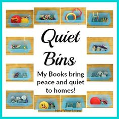 These simple Quiet boxes are brilliant! Such easy ideas with supplies you already have at home. Perfect Quiet time activities for toddlers and preschoolers