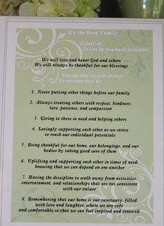 The Family Mission Statement – A Perfect Guide For Tough Decisions