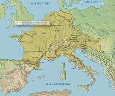 Marcas del Imperio Carolingio
