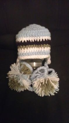 Child crocheted hat
