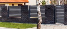 Shades of Bronze Fence Wall Design, Front Wall Design, Exterior Wall Design, Modern Fence Design, House Gate Design, Compound Wall Design, Ladder Decor, Ale, Bronze