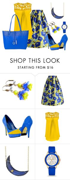 """""""Untitled #149"""" by earthspalette on Polyvore featuring Chicwish, Andrea Fohrman, Michele, MKF Collection and plus size clothing"""