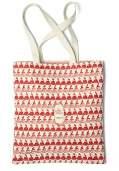 Bookshelf Bandit Tote in Louisa, #ModCloth This purse is based on an original cover for Little Women. And for each purse bought, a book is donated to community education programs.