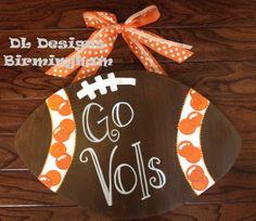 Tennessee Vols Football door hanger