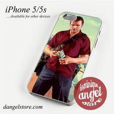 GTA V Michael Phone case for iPhone 4/4s/5/5c/5s/6/6 plus