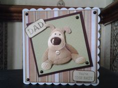Boofle men's dads card