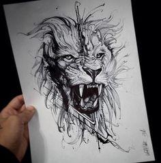 The photo- Фотография The photo - Lion Head Tattoos, Leo Tattoos, Future Tattoos, Animal Tattoos, Body Art Tattoos, Hand Tattoos, Tattoos For Guys, Tattos, Tattoo Designs