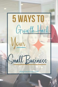 For years you have dreamed about taking your small business to the next level. You're ready to growth hack your small business into something impressive! Business Branding, Business Tips, Online Business, Business School, Content Marketing, Social Media Marketing, Marketing Strategies, Growth Hacking, Growing Your Business