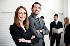 gorgeous business people wallpaper
