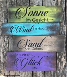 German Quotes, Pool Bar, Sea Glass Art, Guerrilla, Travel Scrapbook, Cheap Home Decor, Diy And Crafts, Shabby Chic, Lettering