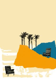 the desert home Art Print by juni - X-Small Desert Homes, Art Drawings, Deserts, Collage, Illustration, Movies, Movie Posters, Collages, Films