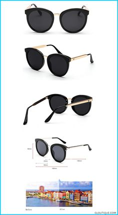 22c841f17d472 GAMT Round Marble Sunglasses Oversize Retro Tide Designer Eyewear for Women