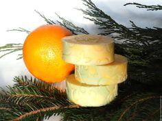 Купить Хвоя Цедра - натуральное мыло с эфирными маслами - натуральное мыло, цитрусовое мыло