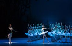 Dresden SemperOper Ballett »Swan Lake« / »Schwanensee«  Dmitry Semionov, Sangeun Lee, Ensemble  - Photo: IanWhalen Photography