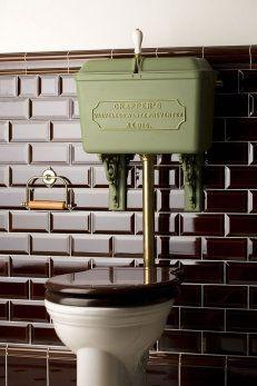 Lågspolande / lavtspylende toalett Thomas Crapper's No814 - gamlamejeriet