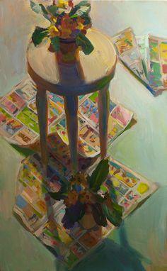 Boyd Gavin - Studio Floor Art Interiors, Art Friend, T Lights, Still Life Art, People Art, Love Painting, Light And Shadow, Vintage Photography, Oil Paintings
