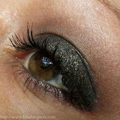 NARS Malacca Single Eyeshadow & Baalbek Eye Paint Swatches, Review & EOTD - Adult Swim Summer 2014 | via @BlushingNoir