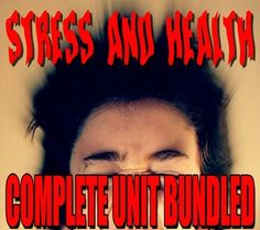 Stress and Health Unit includes Stress and Health Powerpoints with presenter notes, worksheets, warmups, assessment and daily lesson plans. This unit has everything you need to teach all about Stress and Health. Detailed lesson plans make no prep necessary.