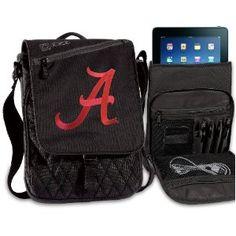 #designer handbags University of Alabama IPAD BAGS TABLET CASES Alabama Crimson Tide College Logo Holders Tablets, E-readers Netbooks Ipads, Ipad 2, Kindle, Nook (Electronics)
