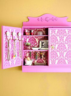 Jewelry Cabinet by decorology, via Flickr
