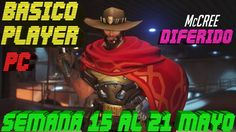 Overwatch Gameplay Español | Let's play Overwatch | ARCADE - MCCREE | DI...