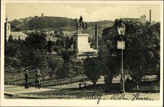 Ansichtskarte / Postkarte Waldheim in Mittelsachsen, Blick auf den Ort von der Bahnho... | akpool.de