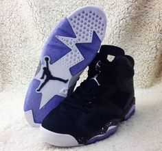 663783381387 jordan 6 black oreo 06 570x534 Air Jordan 6 Retro Black Metallic Silver  Sail Nike Shoes