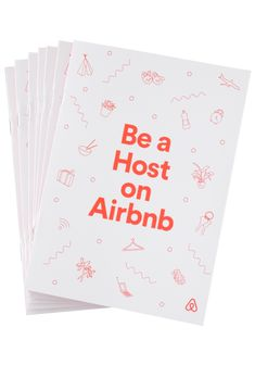 Airbnb Host Education Guide DESIGN & ILLUSTRATION FOR AIRBNB Booklet design and illustration for Airbnb's host education guide, distributed globally. booklets at offset print in Dublin, California. Set in. Booklet Layout, Booklet Design, Line Illustration, Illustrations, Welcome Packet, Airbnb Host, All Icon, Simple Lines, Education