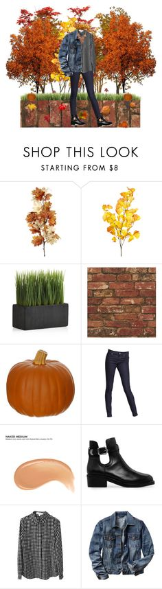 """""""Autumn leaves falling down like pieces into place"""""""" by mirellasandoval12 ❤ liked on Polyvore featuring Crate and Barrel, Express, Urban Decay, MANGO, Finders Keepers and Gap"""