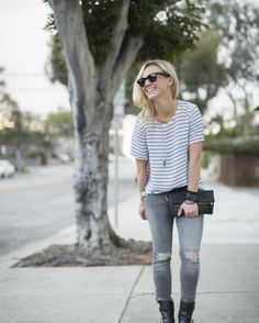Regram! Your smile is contagious, @katiehartmorse. Looking incredibly street-chic in your full Stitch Fix outfit.