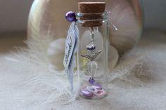 Gastgeschenke  Schlüsselanhänger Charm Kristall-Engel im Glas Hochzeit-Taufe