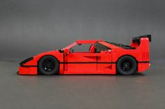 Ferrari F40 LM Super-Mod: Same but different.