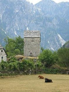Tower Theth, Thethi National Park, Albania