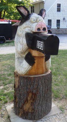 Pig mailbox 100