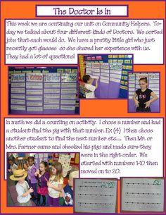 Golden Gang Kindergarten: Community Helpers